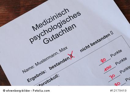 Medizinisch-Psychologisches-Gutachten